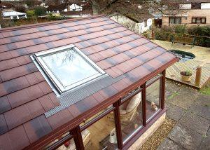 Tiled roof system