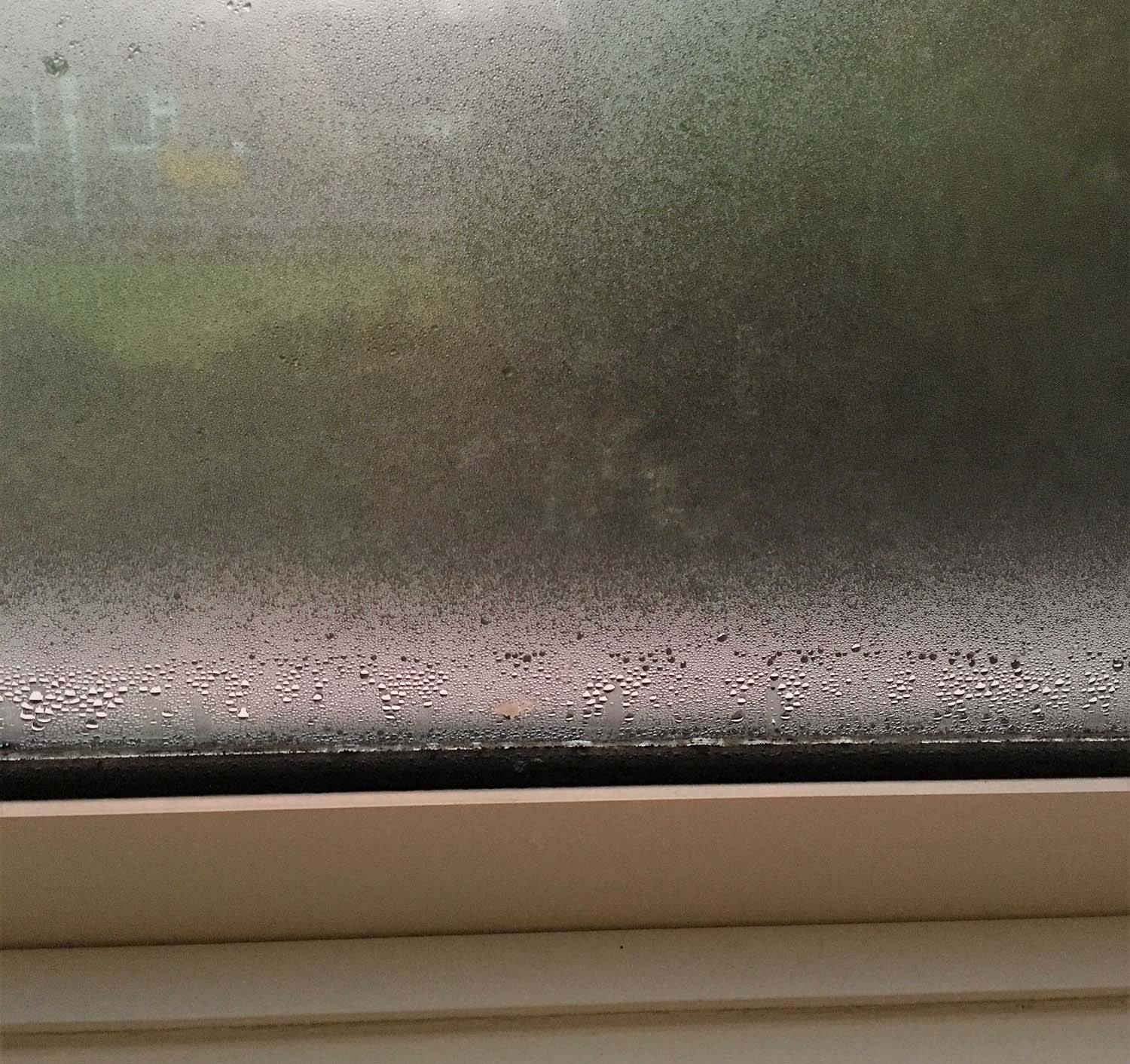 Condensation in a solid roof conservatory