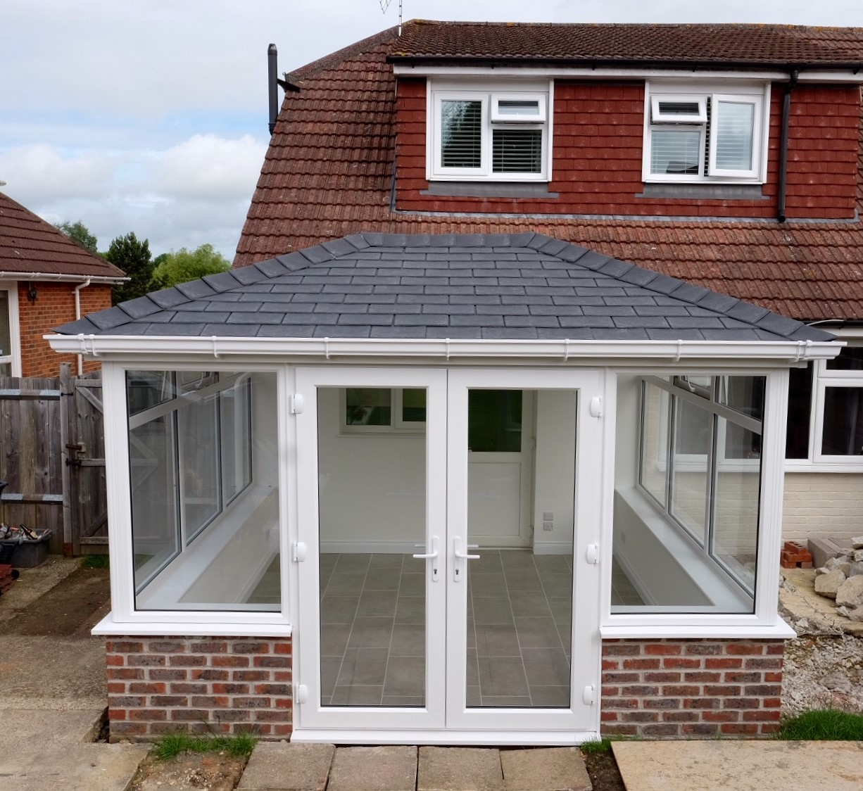 Solid Roof conservatory from Leka Roofs