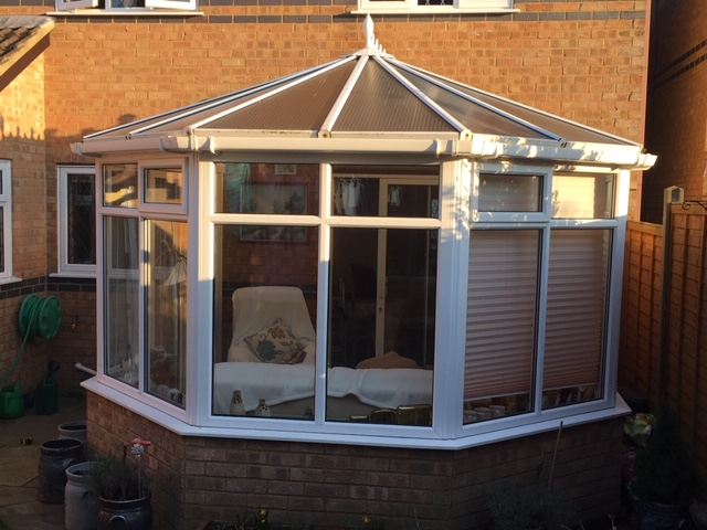 Conservatory read for a leka solid roof system